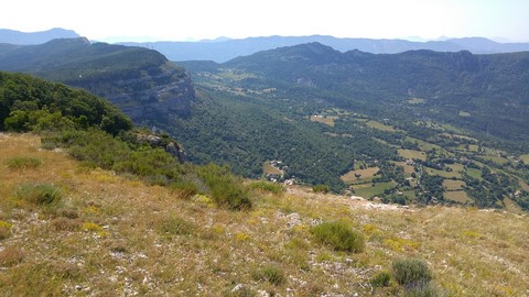 haute provence walking trail south franceeurope panorama